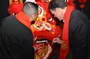 Chinese New Year Roland Sansone Eye Painting